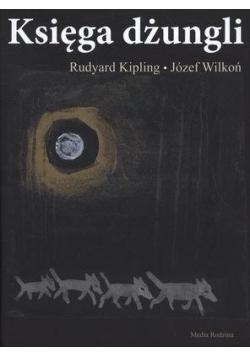 Księga dżungli. Okładka - wilczki