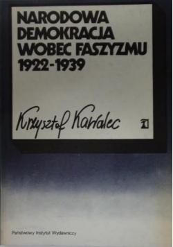 Narodowa demokracja wobec faszyzmu 1922- 1939