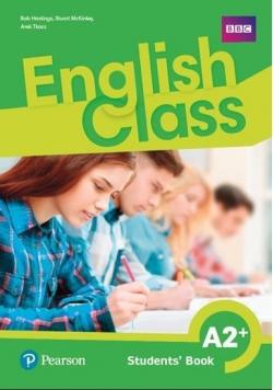 English Class A2+ SB PEARSON