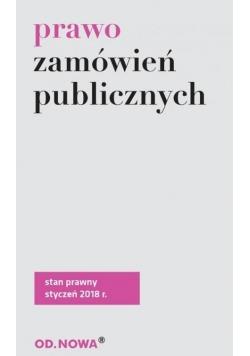 Prawo zamówień publicznych - styczeń 2018