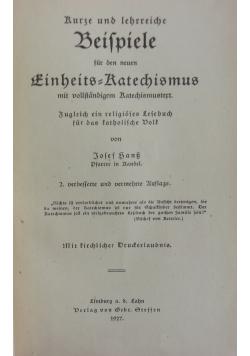 Beispiele, 1927r.