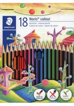 Kredki ołówkowe Noris colour Wopex 18 kolorów