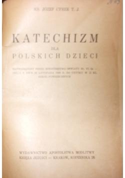 Katechizm dla polskich dzieci, 1947 r.