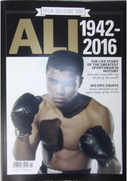 Ali 1942-2016, Special Collectors' Issue