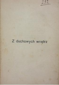 Z duchowych wnętrz, 1913r.