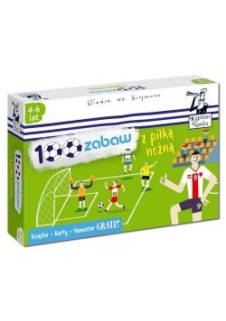 100 zabaw z piłką nożną