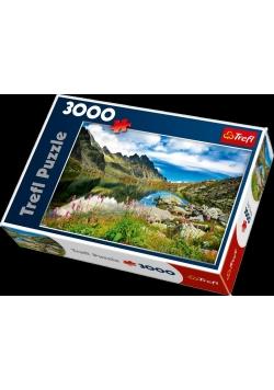 Puzzle 3000 Jezioro w górach TREFL
