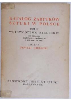 Katalog zabytków sztuki w Polsce, tom II zeszyt 4
