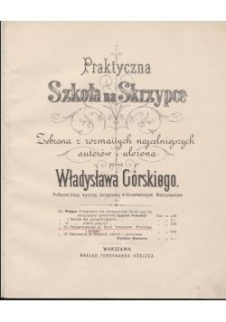 Praktyczna Szkoła na skrzypce, 1880 r.
