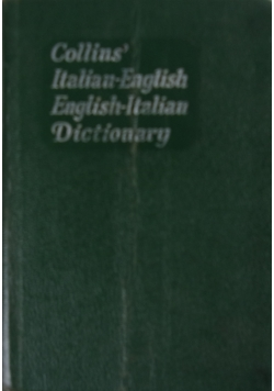 Collins Italian-English English-Italian Dictionary