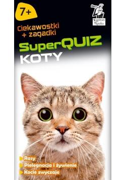 Kapitan Nauka. SuperQUIZ : Koty