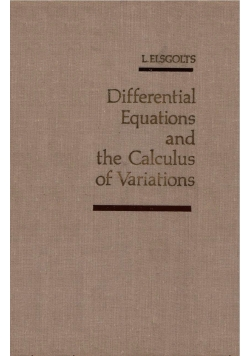 Differential equations and the Calculus of Variations