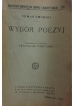 Wybór poezyj, 1920r.