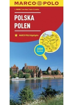 Mapa ZOOM System. Polska 1:800 000 plan miasta