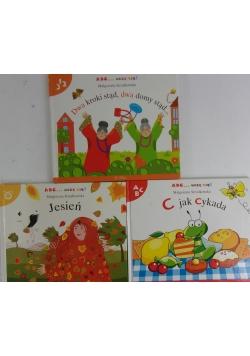 ABC... uczę się, 3 książeczki