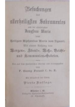 Beleuchtung des allerheiligsten sakraments, 1902 r.