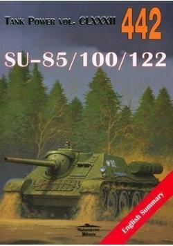 SU-85/100/122. Tank Power vol. CLXXXII 442