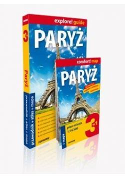 Explore!guide Paryż 3w1 Przewodnik Wyd. III