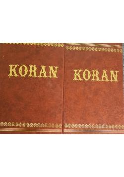 Koran 2 tomy, reprint z 1958r.