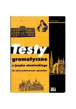 Testy gramatyczne z języka niemieckiego