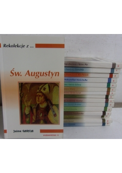Rekolekcje z...., 16 książek z serii