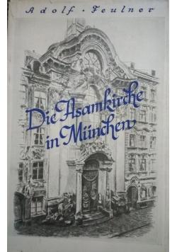 Die asamkirche in Munchen,  1932 r.