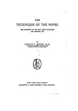 The technique of the novel, 1908 r.