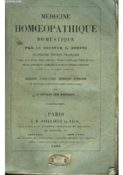 Medecine Homoepathique,1860r.
