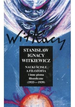 Nauki ścisłe a filozofia i inne pisma filozoficzne 1933-1939