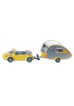 Siku 16 - Samochód z przyczepą campingową S1629