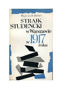 Strajk studencki w Warszawie w 1917r