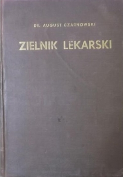 Zielnik lekarski, 1938 r.