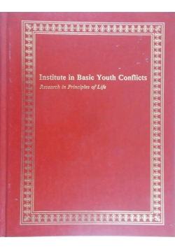 Institute in Basic Youth Conflicts