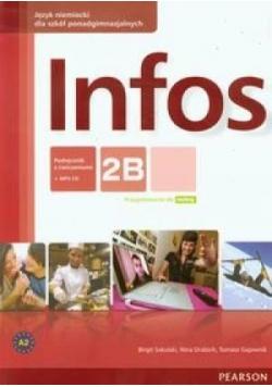 Infos 2B podręcznik z ćwiczeniami+CD PEARSON