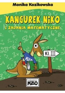 Kangurek NIKO i zadania matematyczne dla klasy III