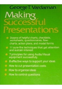 Making successful presentations