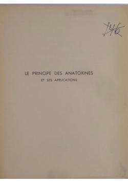 Le Principe Des Anatoxines,1950