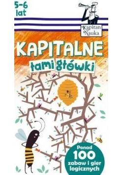 Kapitan Nauka. Kapitalne łamigłówki (5-6 lat)