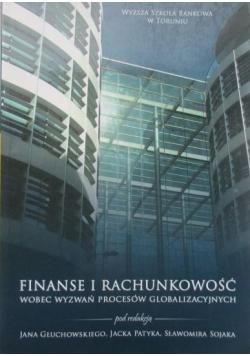 Finanse i rachunkowość wobec wyzwań procesów globalizacyjnych