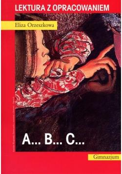 ABC. Lektura z opracowaniem