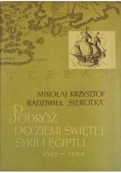 Podróż do Ziemi Świętej Syrii i Egiptu 1582-1584