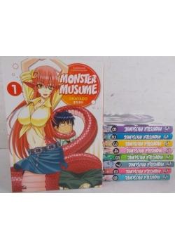 Monster Musume, zestaw 9 książek