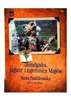Blondynka, jaguar i tajemnica majów audiobook