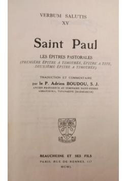 Saint Paul. Verbum Salutis XV