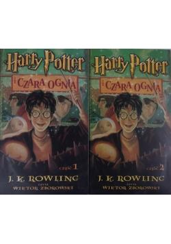 Harry Potter i Czara Ognia, cz. 1 i 2, audiobook