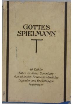 Gottes spielmann, 1926 r.