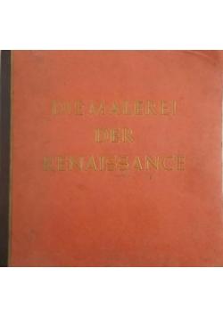 Die malerei der Renaissance, 1938r.