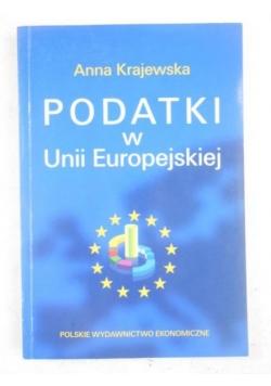 Podatki w Unii Europejskiej