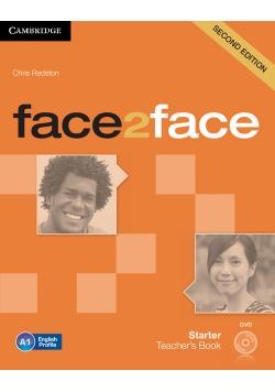 face2face Starter Teacher's Book with DVD