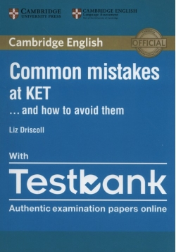 Common Mistakes at KET with Testbank